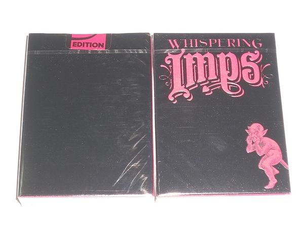 【USPCC 撲克】Whispering Imps 撲克牌 黑盒 V2