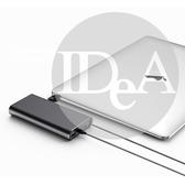 IDEA  筆記型電腦行動電源20000mAh 手機 QC3.0 PD 快速充電  智慧型