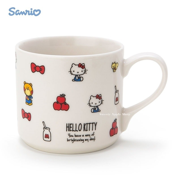 日本限定 HELLO KITTY 甜心 陶瓷馬克杯