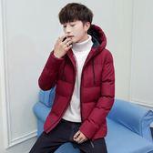 2019冬季男士外套 青少年韓版潮流休閑棉衣服 帥氣男裝 棉服加厚棉襖 時尚男款個性外套