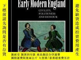 二手書博民逛書店The罕見Duel In Early Modern EnglandY256260 Markku Peltone