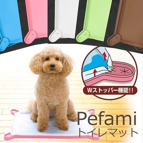 【寵物王國】日本TK專利矽膠便盆(小),有粉、藍、綠、咖啡等色可選!