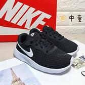 《7+1童鞋》中童 NIKE TANJUN (PS) 網布透氣 運動鞋 H868 黑色