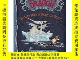 二手書博民逛書店How罕見to Train Your Dragon Book 7: How to Ride a Dragon s