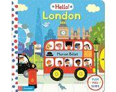 Hello London 倫敦探險 硬頁操作推拉書