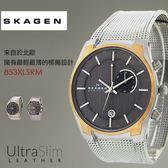【人文行旅】SKAGEN | 北歐超薄時尚設計腕錶 853XLSRM