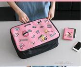 短途出門旅行包女輕便可愛韓版拉桿旅游出差男小手提包行李收納袋  凱斯盾數位3C