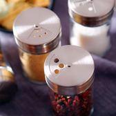 聖誕節 廚房用品玻璃調料盒套裝家用組合裝調料收納罐佐料盒撒料瓶密封罐 熊貓本