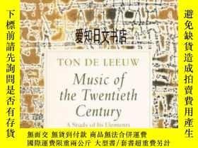 二手書博民逛書店【罕見】 Music Of The Twentieth Cent