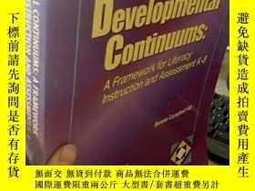 二手書博民逛書店Developmental罕見Continuums:A Fram