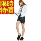 女款休閒褲吊帶-造型彈力流蘇設計優雅個性女褲子1色59g33【巴黎精品】