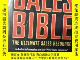 二手書博民逛書店The罕見Sales Bible The Ultimate Sa