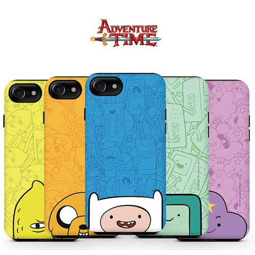 Adventure Time 探險活寶 雙層防摔 手機殼│iPhone 5S SE 6 6S 7 8 Plus X XS MAX XR 11 Pro│z8188