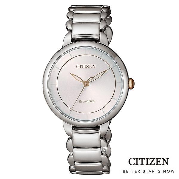 CITIZEN 星辰 (EM0676-85X) 光動能 防水 時尚 女錶/30.5mm