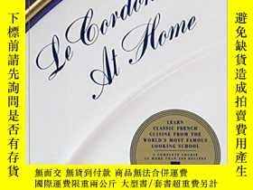 二手書博民逛書店Le罕見Cordon Bleu At HomeY364682 Le Cordon Bleu William M