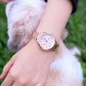 LICORNE 力抗錶 真鑽玫瑰金 防水 女錶(LT127LRPI )
