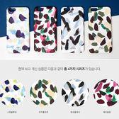 韓國 隨意筆觸 硬殼 手機殼│可加購訂製雙層防摔│S7 Edge S8 S9 Plus Note5 Note8 Note9│z8397