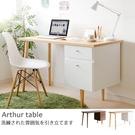 木質 書桌 電腦桌 辦公桌【X0008】亞瑟雙抽電腦桌(原木) MIT台灣製ac 完美主義