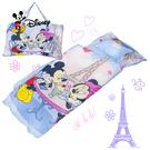 米奇 浪漫巴黎 藍 兒童睡袋 標準 台灣...
