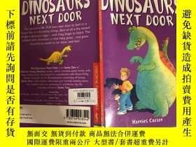 二手書博民逛書店the罕見dinosaurs next door隔壁的恐龍Y200392