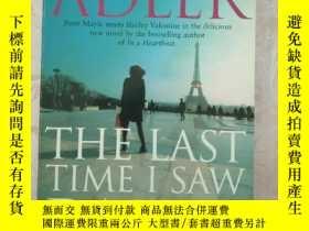 二手書博民逛書店THE罕見LAST TIME I SAW PARIS(我最後一次見到巴黎)Y351358 Elizabetha