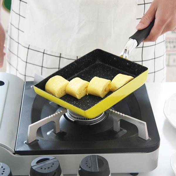 日本玉子燒煎蛋千層鍋方形麥飯石雞蛋捲不沾煎鍋厚蛋燒不沾平底鍋 TW【快速出貨】