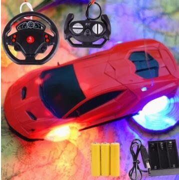 遙控汽車 充電動無線賽車跑車耐摔男孩兒童玩具車3-5-6-7周歲4-10限時八九折