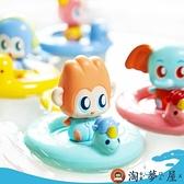 寶寶戲水上玩具哄娃洗澡盆神器花灑嬰裝組合【淘夢屋】