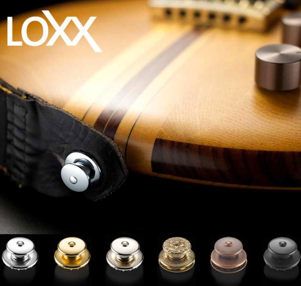 【小叮噹的店】全新 德製 LOXX A-AC 古董紅銅 木吉他 民謠/古典 安全背帶釦 加厚背帶款  公司貨