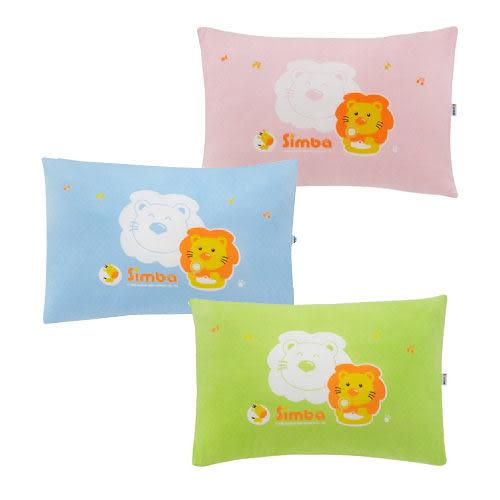 【奇買親子購物網】小獅王辛巴simba兒童睡枕-(藍/粉紅/綠色)
