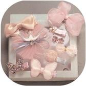 兒童發夾頭飾公主淑女寶寶發箍皇冠頭飾可愛嬰兒發夾發量少安全夾