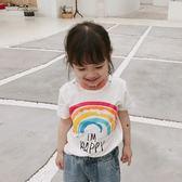 【全館88折】 新春新品▶ 短袖T恤 新款男童女童童裝兒童卡通圓領上衣4864 韓趣優品☌