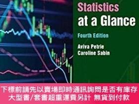 二手書博民逛書店Medical罕見Statistics at a Glance,醫學統計學,第4版,英文原版Y449990 P