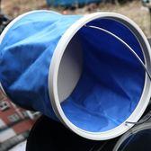 自駕游洗車用水桶 便攜式折疊車載伸縮桶戶外