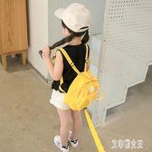 防走失包 幼兒園書包1-3歲寶寶背包女可愛2歲兒童包包嬰兒包潮 QG1898【艾菲爾女王】