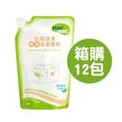【雙10超值組】nac nac 奶瓶蔬果酵素洗潔慕斯補充包(600ml)【箱購12包】【佳兒園婦幼館】