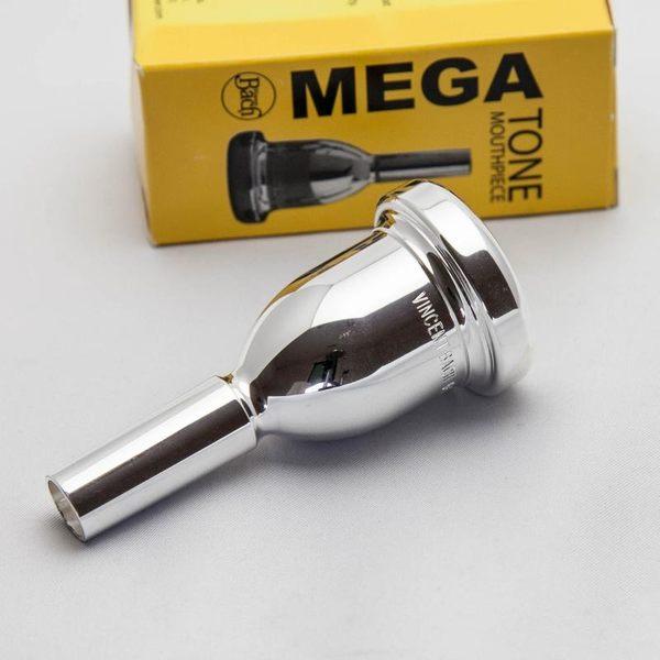 小叮噹的店- 粗管長號吹嘴(加重型) BACH K341 Mega Tone 鍍銀號嘴(粗管上低音)