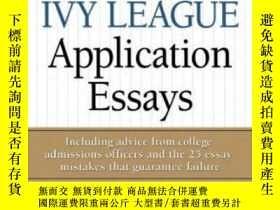 二手書博民逛書店50罕見Successful Ivy League Application EssaysY364682 Gen