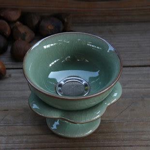 龍泉青瓷茶道零配陶瓷汝窯紫砂玻璃功夫茶茶具茶漏