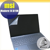 【Ezstick】MSI Modern 14 B11M 靜電式筆電LCD液晶螢幕貼 (可選鏡面或霧面)