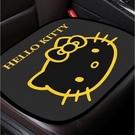 台灣現貨 Kitty 三麗鷗 加菲貓 前坐 冰絲 座墊 車用 坐墊 免綑綁