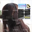 捲髮造型海綿髮捲(直徑3.5cm)-6入(黑色)大波浪梨花捲[18069]
