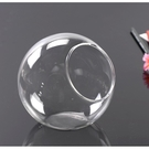 CARMO多肉植物平底斜口玻璃瓶 微景觀 玻璃【ME07002】