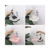 韓版透明短筒雨鞋女防滑果凍膠鞋雨靴