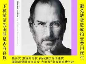 二手書博民逛書店英文原版罕見Steve Jobs史蒂夫喬布斯自傳 美國版Y210