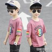 童裝男童夏裝短袖t恤半袖2020年夏季中大童大兒童男孩純棉潮8歲