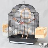 鳥籠子 玄鳳虎皮鸚鵡籠子豪華大型號別墅八哥籠大號牡丹鷯哥繁殖籠JY【快速出貨】
