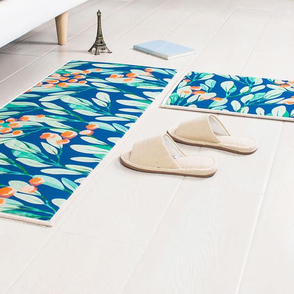 時尚創意地墊24 廚房浴室衛生間臥室床邊門廳 吸水長條防滑地毯(45cm*120cm )