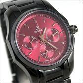 【萬年鐘錶】SIGMA日系 三眼時尚錶 1018B-B4