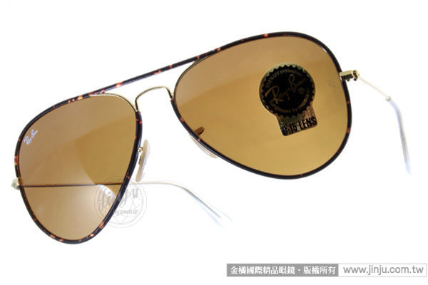 RayBan 太陽眼鏡 RB3025JM 001 (琥珀金) 經典限量款 墨鏡 # 金橘眼鏡